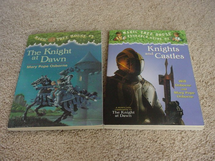 MAGIC TREE HOUSE #2 & GUIDE NEW Treehouse knight castle