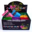 Crystal Soil Cube Display Box 60 Packets Assorted Colours
