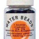 Water Beads Big Pearl Shape 50gm Pottle Orange