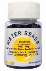 Water Beads Big Pearl Shape 50gm Pottle Yellow