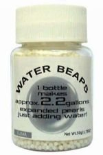 Water Beads Big Pearl Shape 50g/Bottle Clear