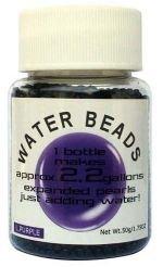 Water Beads Big Pearl Shape 50gm Pottle Purple
