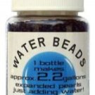 Water Beads Big Pearl Shape 50gm Pottle Blue