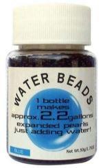 Water Beads Big Pearl Shape 50gm Pottle Blue
