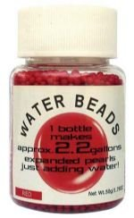 Water Beads Big Pearl Shape 50g/Bottle Red