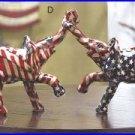 #33838 Patriotic Elephant Pair