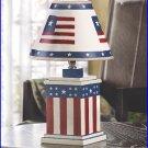#39185 Vintage Americana Lamp