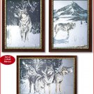#39276 Winter Wolves Mirror Set