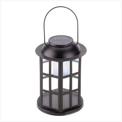 #12526 Solar Carriage Lantern