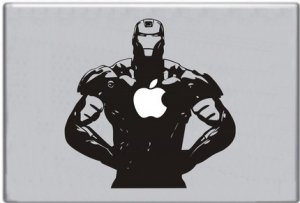 Ironman Macbook Sticker Decal Skin
