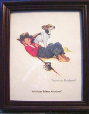 """Norman Rockwell """"Adventure Between Adventures"""""""