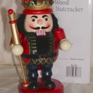 """Holiday Home 8"""" Chubby Nutcracher This Guy is made of Wood and nicely painted.Price: 6.99"""