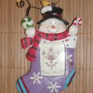 "Snowman Stocking Ornament Photo Frame This is so cute Size: 5"" H x 3"" W Price: 5.95"