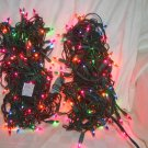 Two Strands of Multi Colored Christmas Lights 25ft each Price: 4.95