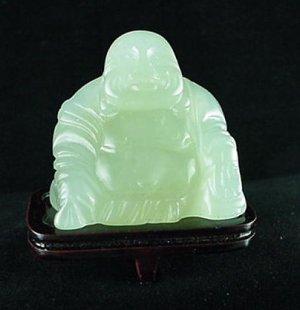 Hand Carved Genuine Jade Buddha 258 cts