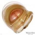 GENUINE MURANO GLASS Made in Italy 24k Ring