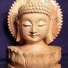 Hand Carved Buddha Bust