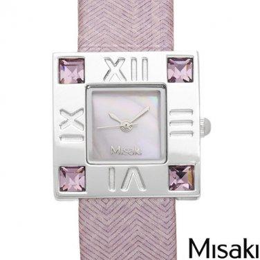 New MISAKI Ladies Watch Pink Crystals