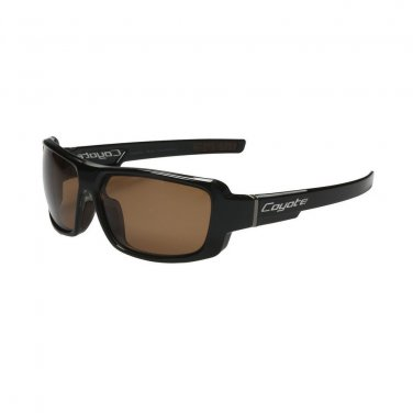 New Coyote Eyewear Chaos Sunglasses  Polarized Black Brown