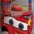 "Disney Pixar Cars Super Soft Plush Toddler Blanket 30"" x 45"" New Throw"