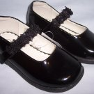 Girls' Toddler Size 8 Genuine Kids from OshKosh® Black Patent Mary Jane Dress Shoes NEW