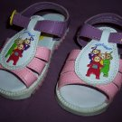 Teletubbies Sandals Shoes Girls Size Infant Toddler 6