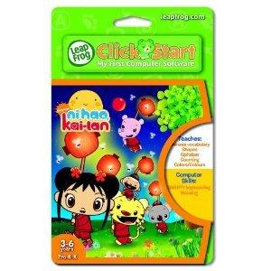 Ni Hao Kai Lan LeapFrog Click Start My First Computer Game Cartridge 3-6 Pre K-K FREE SHIP