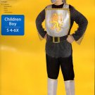 Brave Medieval Knight Halloween Costume Child Boys Size 4-6