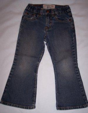 Girls Levi's Size 4 Stretch Boot Cut Denim Jeans