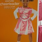 Pink Long Sleeve Cheerleader Dress Halloween Costume Toddler Infant Size 12-24 Months
