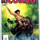 The Savage Sword Of Conan The Barbarian Volume 1, No. 135, April 1987 Marvel Comic Magazine