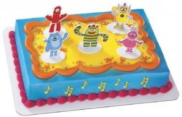 Yo Gabba Gabba Dance Party Cake Decoration Birthday Party Favor Toppers Kit Set DecoPac