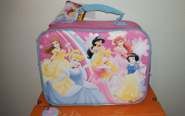 Disney Princesses Princess Soft Zip Insulated Lunch Bag with Handle