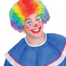 Adult Rainbow Clown Standard Wig Party Halloween Costume Accessory