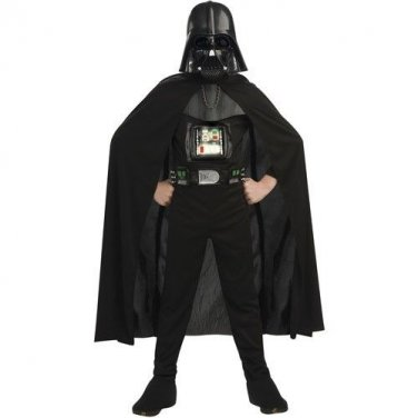 New Boys Star Wars Deluxe Darth Vader Halloween Costume Childs Small 4-6