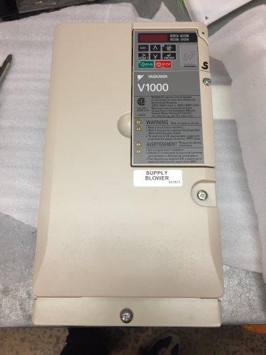 W7760C is Yaskawa-CIMR-VU2A0030FAA-VFD.200-240 Volt, 3PH. 37/24 Amps, 10 HP