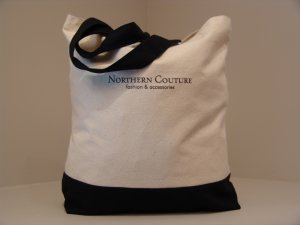 Northern Couture Colorblock  Tote