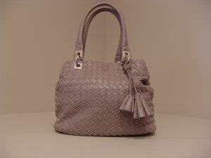 David Jones Weave Handbag