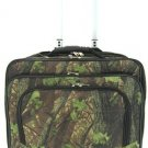 Camouflage Print Designer Large Rolling Briefcase! (Moss-Green)