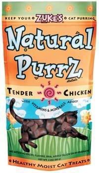 Zukes Natural Purz Chicken Flavor Treats