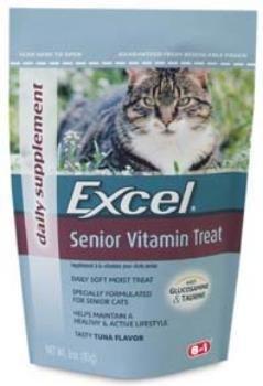 Senior Cat Vitamin Treat