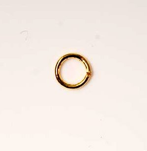Jump Rings Gold Tone x50 Jewellery Findings 5mm