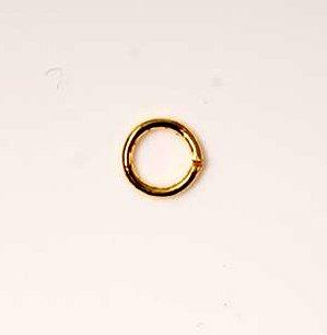 Jump Rings Gold Tone x50 Jewellery Findings 5mm diy hobbies