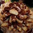 CHOCOLATE ANISE ALMOND ITALIAN BISCOTTI CARIBOUCOLLECTIBLES