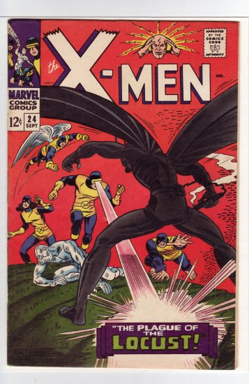 X-Men # 24 FN+ to FN/VF