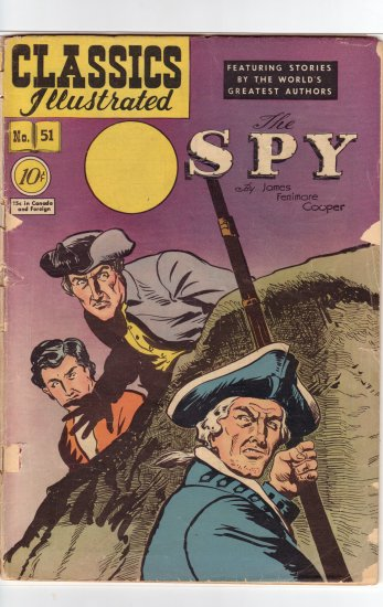 Classics Illustrated # 51 HRN 51 Original VG
