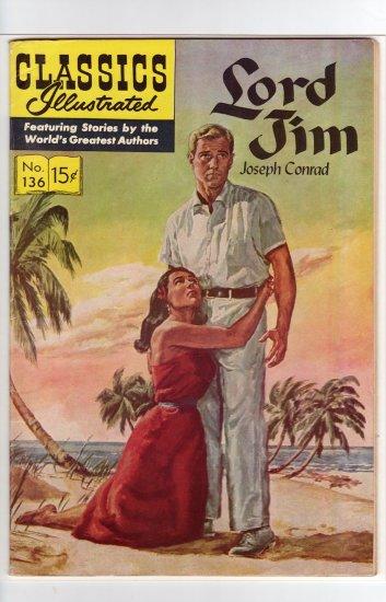Classics Illustrated #136 HRN 136 Original VF/NM to NM