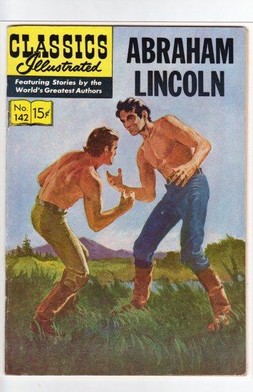 Classics Illustrated #142 HRN 142 Original NM- to NM