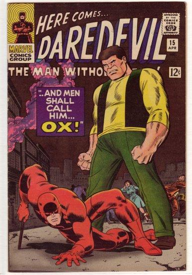 Daredevil # 15 VF/NM to NM-