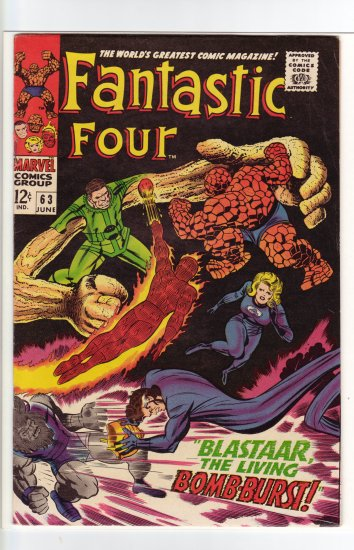 Fantastic Four # 63 VF+ to VF/NM